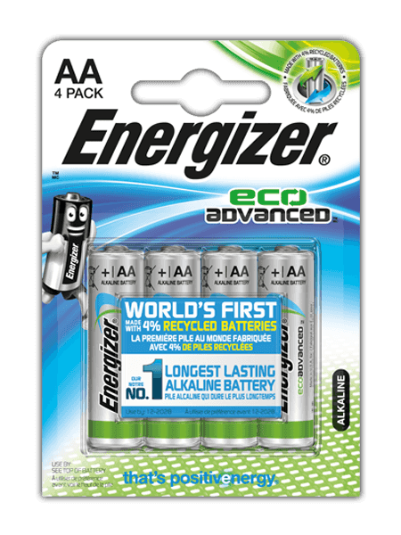 Baterie AA/LR6 ENERGIZER ECO Advanced, 4 ks (blistr)