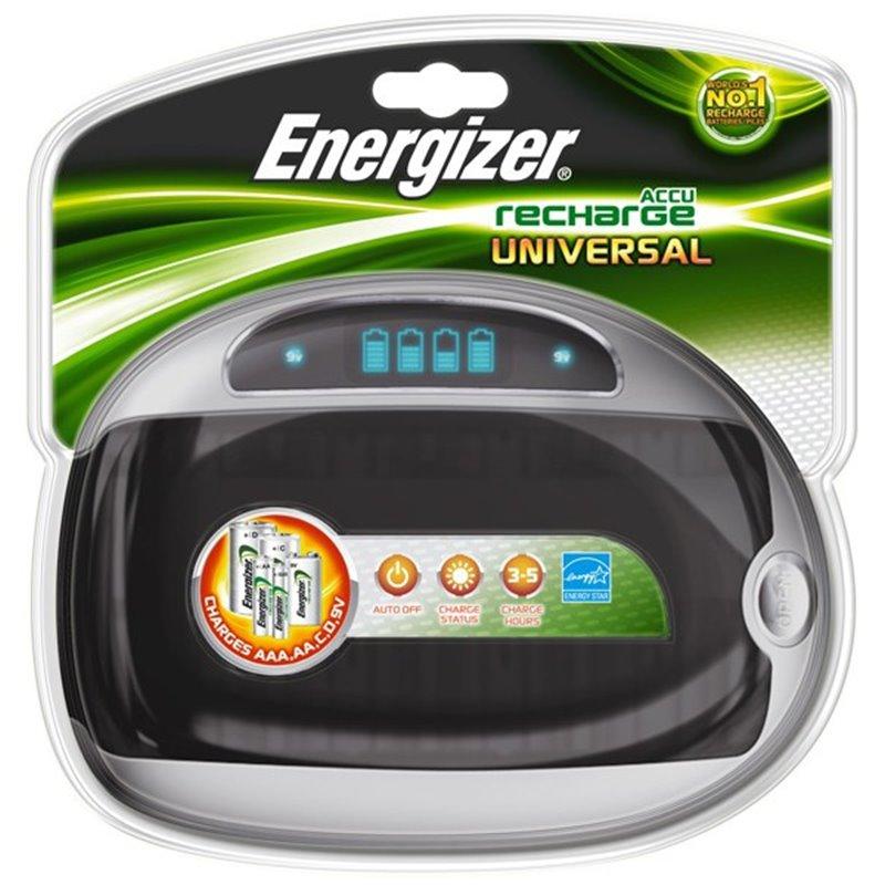 Univerzální nabíječka baterií Energizer Universal LCD