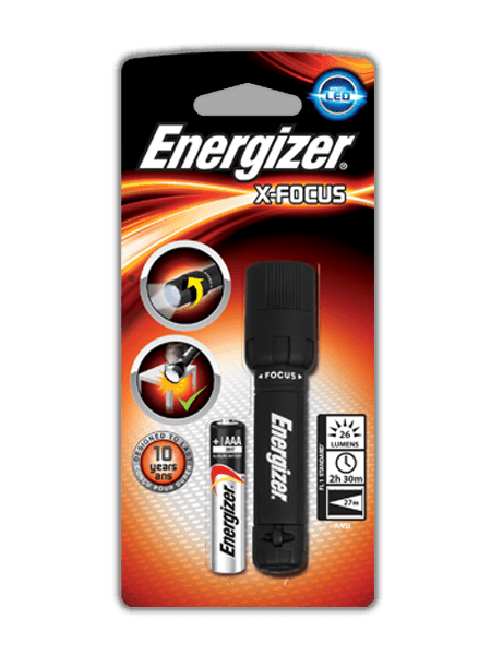 LED svítilna ENERGIZER X-FOCUS, 1xAAA, 26lm