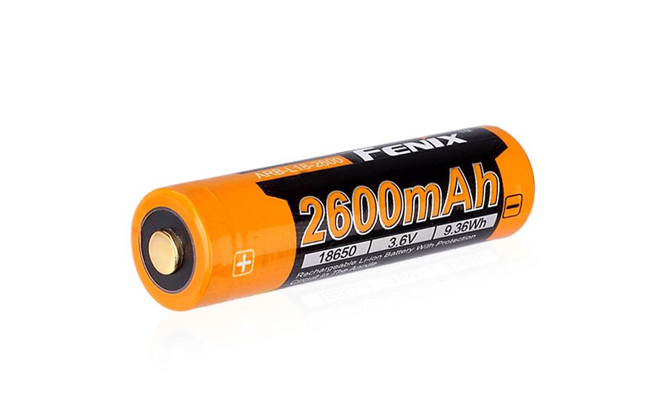 Dobíjecí baterie Fenix 18650 2600mAh (Li-Ion)