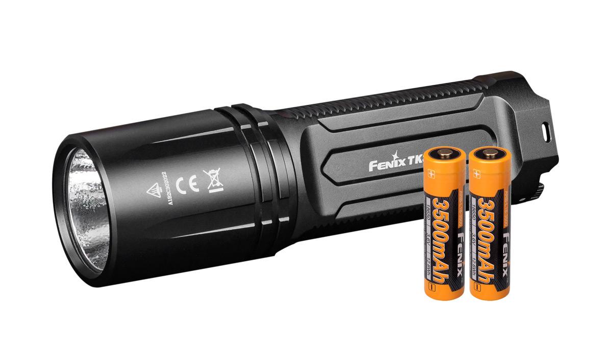 Svítilna Fenix TK35 Ultimate Edition + 2x aku 3500mAh, AKČNÍ SET