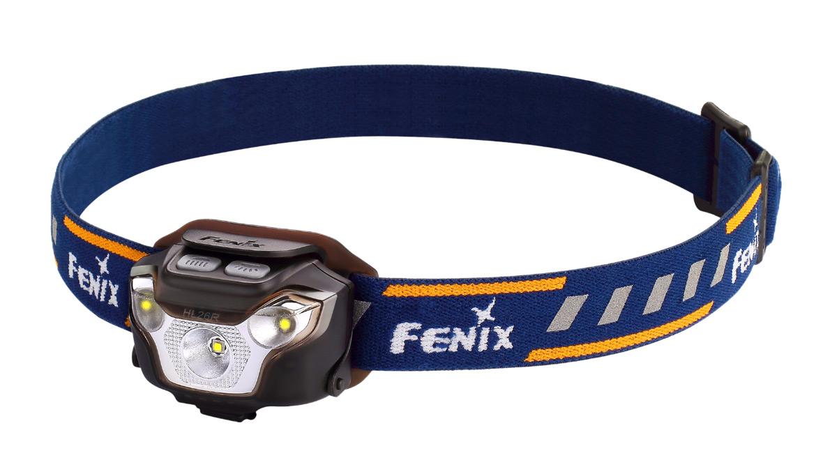 Nabíjecí čelovka Fenix HL26R - černá