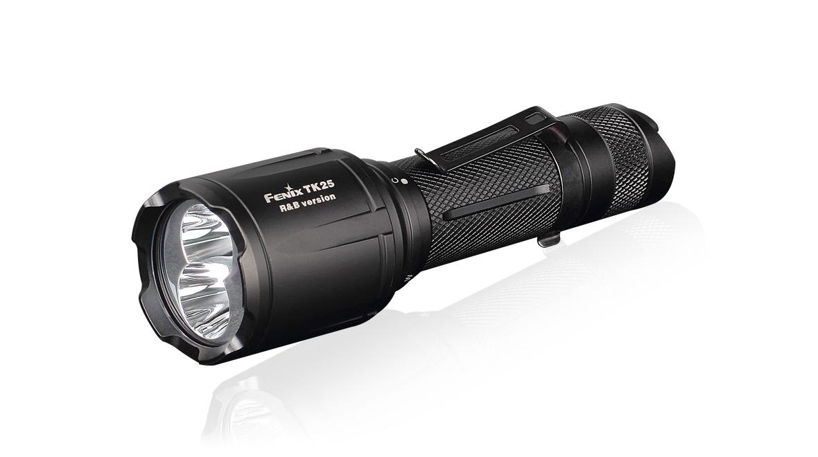 Taktická LED svítilna Fenix TK25 R&B