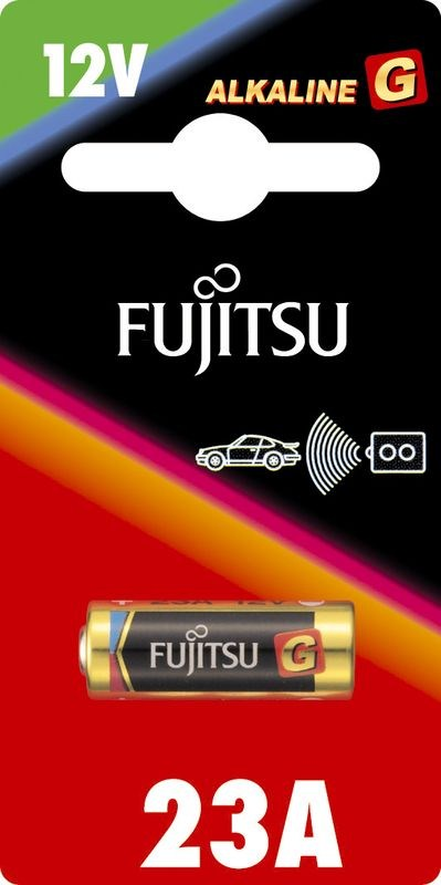 Fujitsu alkalická baterie 12V/F23G, blistr 1ks