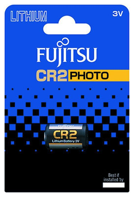 Baterie CR2 FUJITSU, 1 ks (blistr)