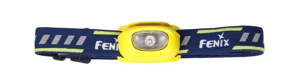 LED čelovka Fenix HL16 - žlutá