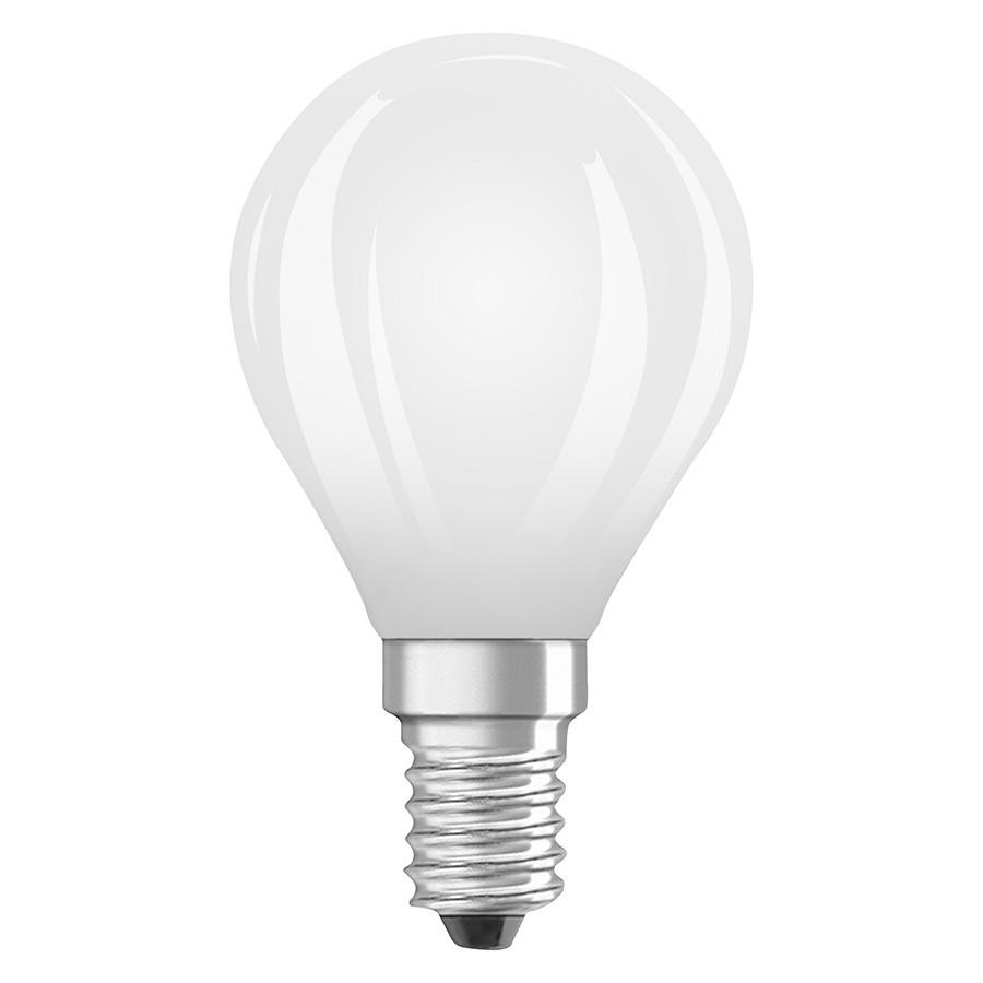 Žárovka 40W E14, malá kulička, matná