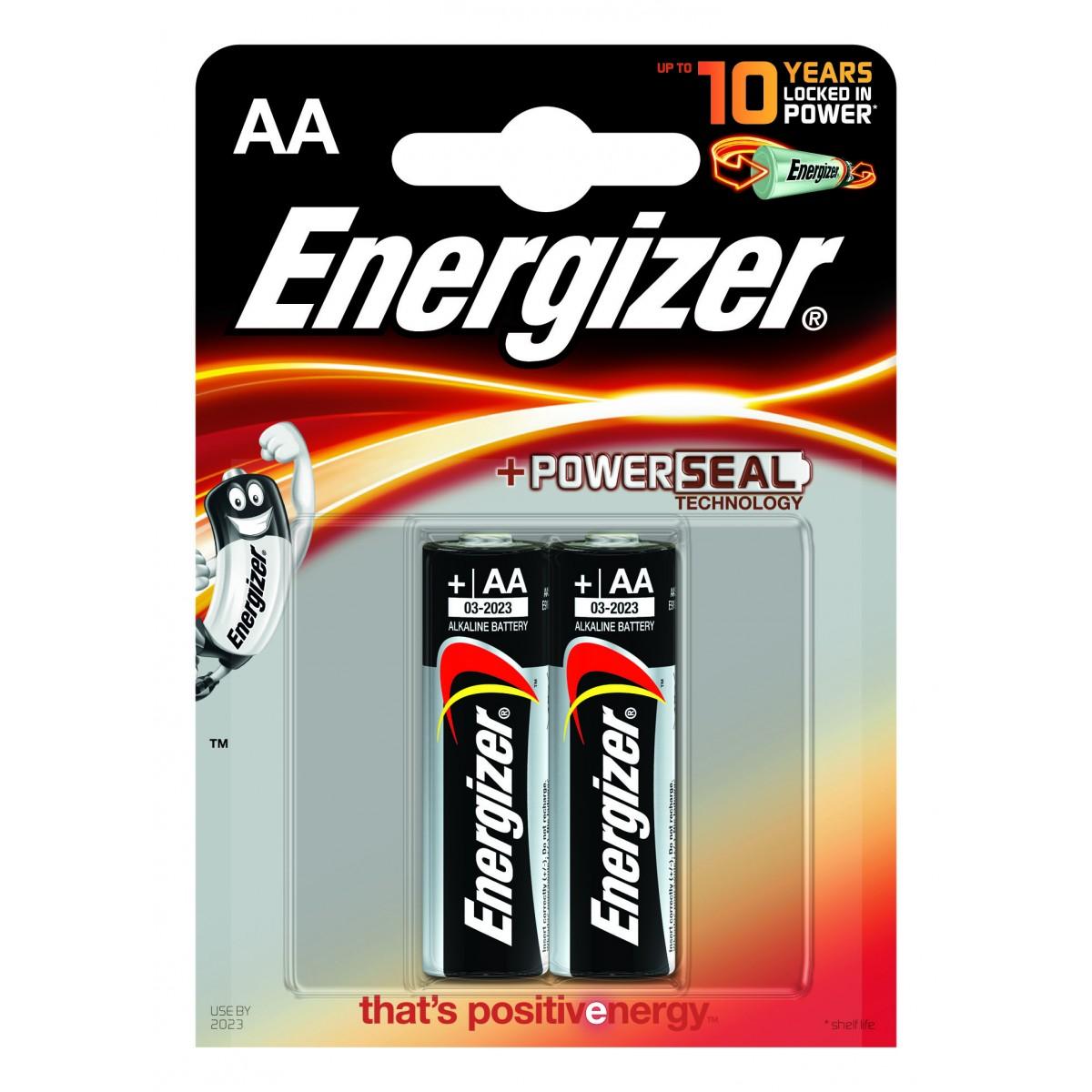 Baterie Energizer Power AA LR6 2 ks (blistr)