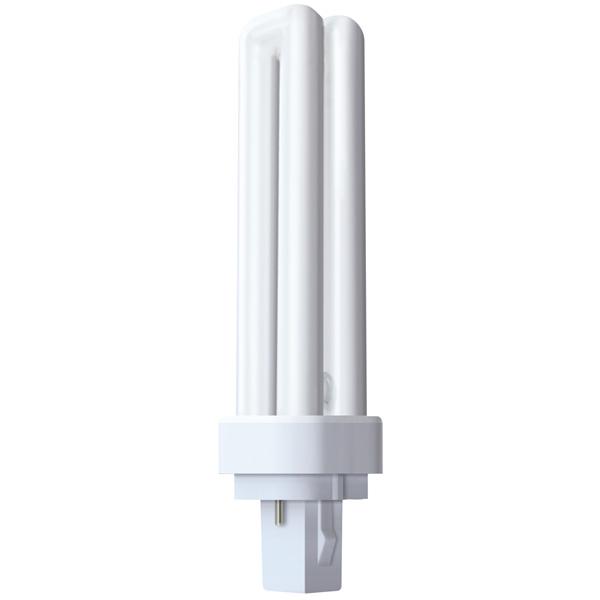Zářivka GE 13W G24d-1, 4000K, 1 ks, 2P
