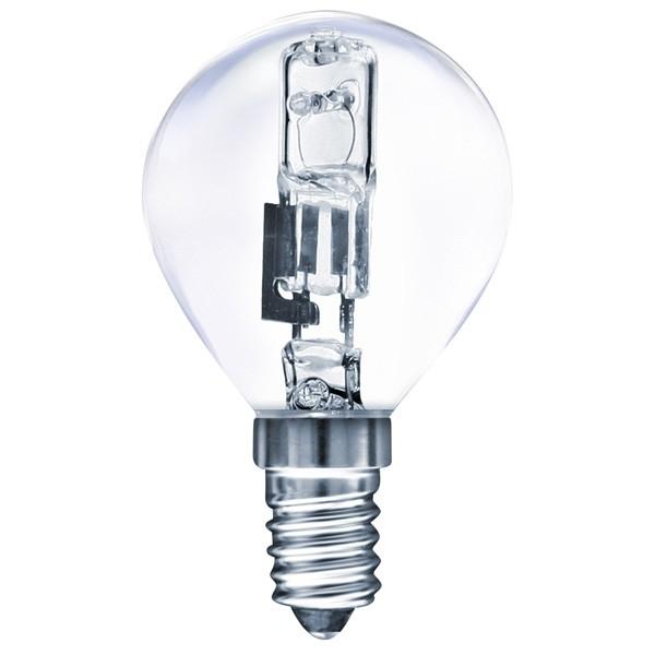 Halogenová žárovka 28W (35W) E14, MÜLLER-LICHT, mini globe