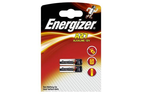 Baterie ENERGIZER A27 2 ks