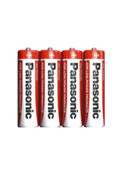 Baterie AA/R6 PANASONIC, 4 ks (shrink)