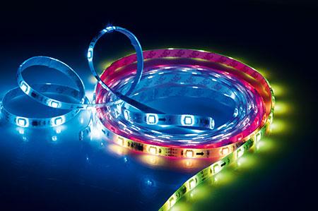 MÜLLER-LICHT LED pásek RGB, dálk.ovládání, 5m, 57016