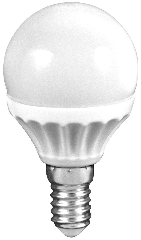 LED mini globe 3W (26W) E14, MÜLLER-LICHT, teplá bílá
