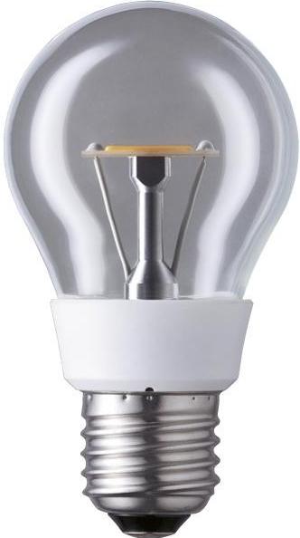 LED žárovka 4.4W (20W) E27 PANASONIC NOSTALGIC, čirá, teplá bílá