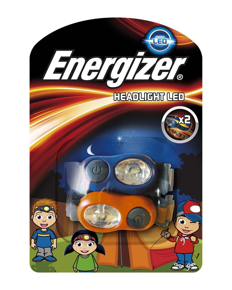 LED čelovka dětská Headlight Kids ENERGIZER, 2 ks (blistr)