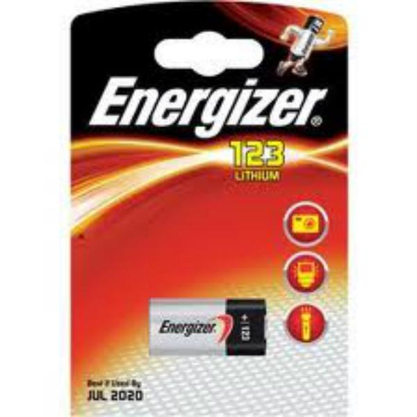 Baterie CR123 ENERGIZER, 1 ks (blistr)