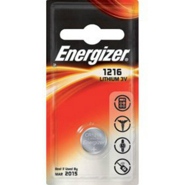 Baterie CR1216 ENERGIZER, 1 ks (blistr)