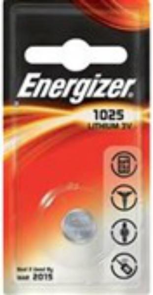 Baterie CR1025 ENERGIZER, 1 ks (blistr)