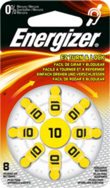 Baterie 10 ENERGIZER, 8 ks (blistr)