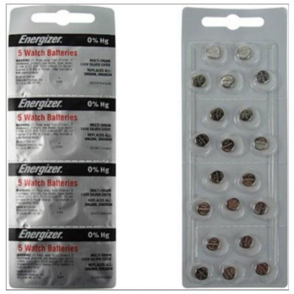 Baterie Energizer 364/363, 20 ks (blistr)