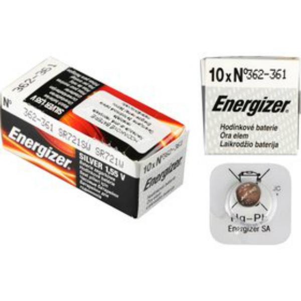 Baterie 362/361/SR721 ENERGIZER, 1 ks (blistr)