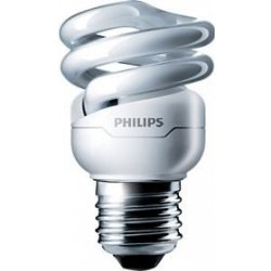PHILIPS úsporná zářivka 8W E27, teplá bílá