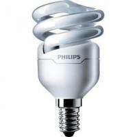 PHILIPS úsporná zářivka 8W E14, teplá bílá