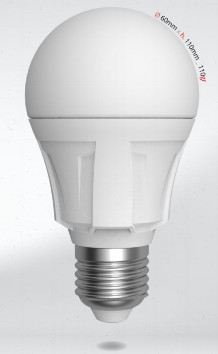 LED žárovka 12W (90W) E27 SKYLIGHTING, denní bílá