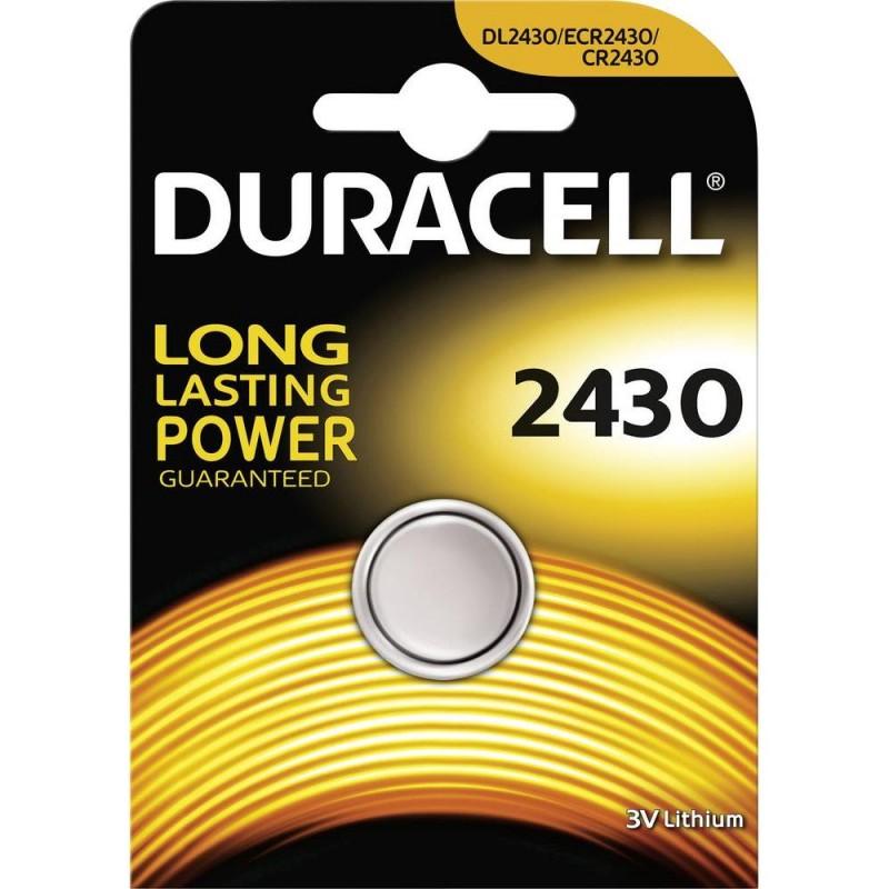 Baterie CR2430 DURACELL, 1 ks (blistr)