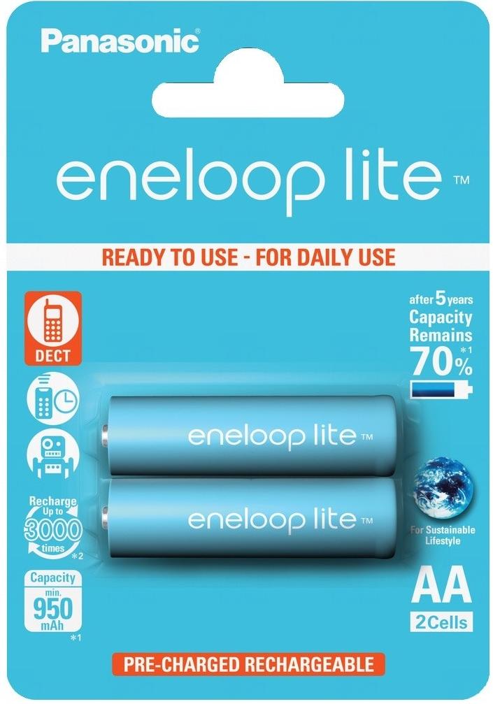 Baterie Panasonic ENELOOP LITE AA, 3LCCE/2BE