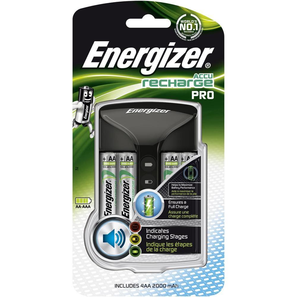 Nabíječka Energizer PRO + 4 AA Power Plus 2000mAh