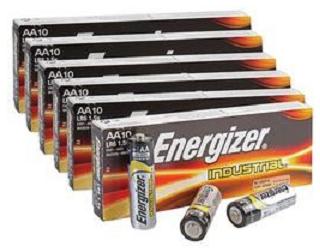 Baterie Energizer Industrial AA LR6 10 ks