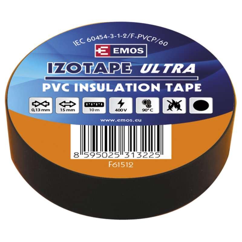 Izolační páska PVC 15mm/10m černá