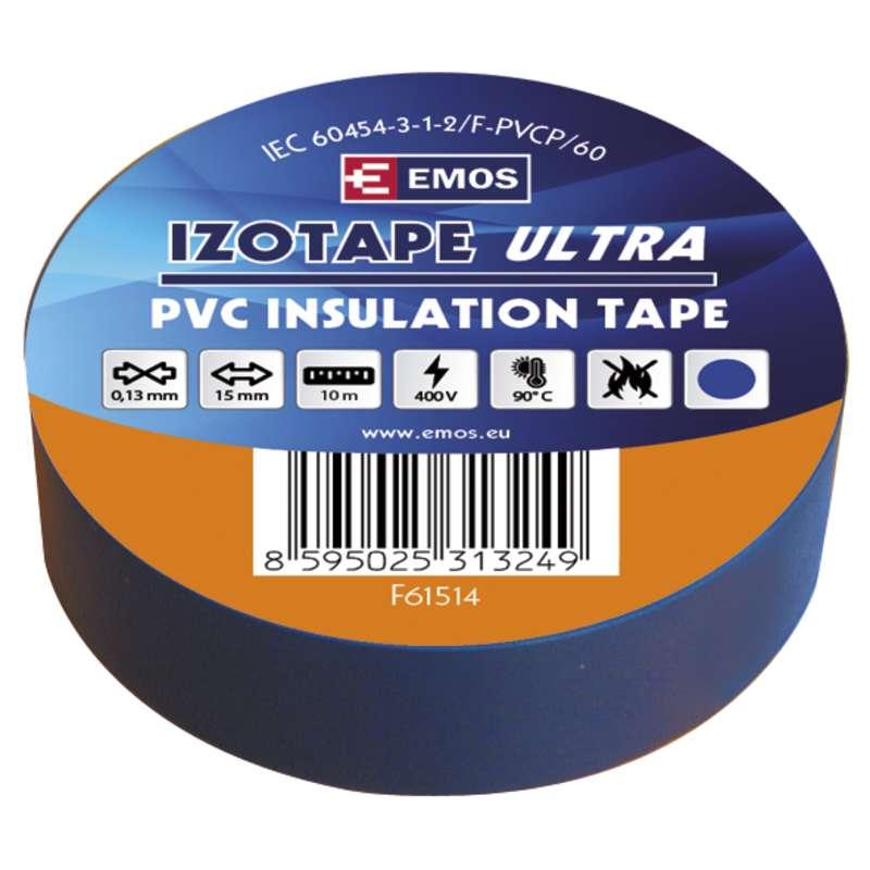 Izolační páska PVC 15mm/10m modrá