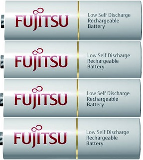 Baterie AA/HR6 1900mAh FUJITSU WHITE, 4 ks (bulk)