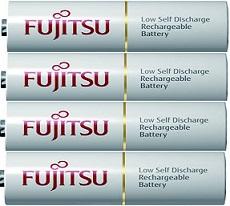 Baterie AAA 800mAh FUJITSU WHITE, 4 ks (bulk)