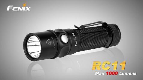 LED svítilna nabíjecí Fenix RC11, 1000lm
