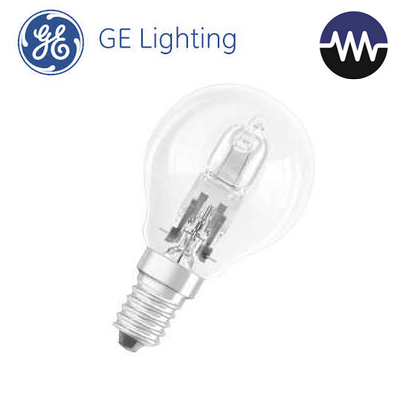 Halogenová žárovka 20W (26W) E14, GE lighting ECO, mini globe