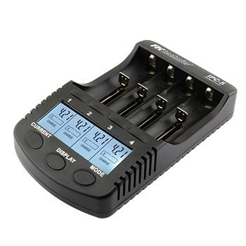 Nabíječka baterií FK Technics IPC-5 pro NiMH, NiCd, Li-ion - AA, AAA, 18650 + USB