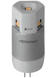 LED G4 2W, MEGAMAN, studená bílá