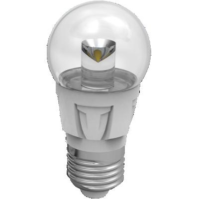 LED mini globe 5W (35W) E27, LIGHT, čirá, teplá bílá