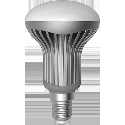 LED R50 6W (50W) E14, LIGHT, studená bílá
