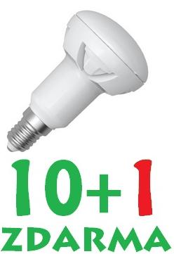 LED R50 7W E14, SKYLIGHTING, studená bílá, akce 10+1