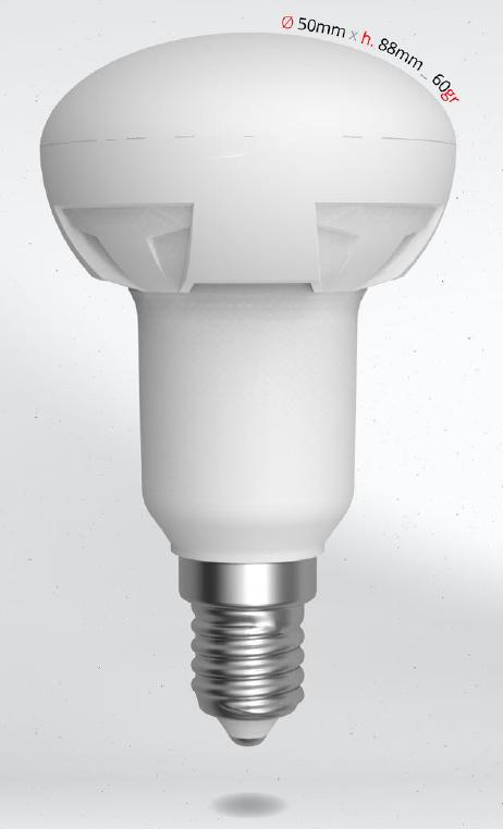 LED R50 7W (50W) E14, SKYLIGHTING, denní bílá