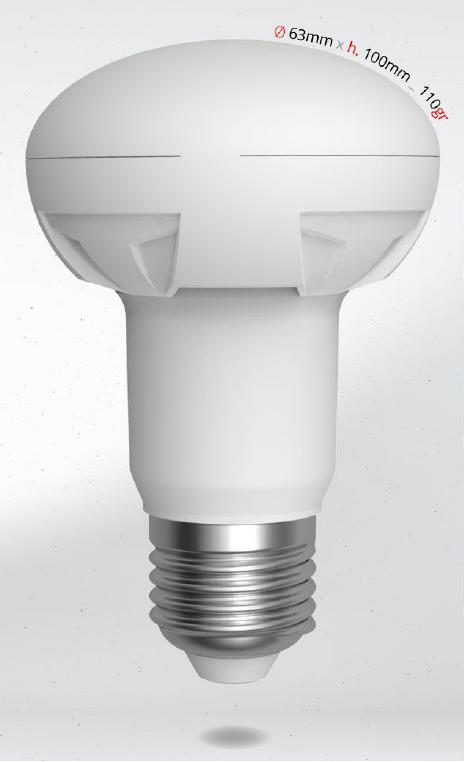 LED R63 11W (80W) E27 SKYLIGHTING, teplá bílá