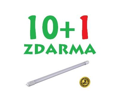 Solight LED zářivka lineární T8, 18W, 1650lm, 4000K, 120cm 10+1