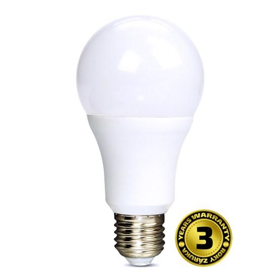 LED žárovka 10W (60W) E27 SOLIGHT, studená bílá