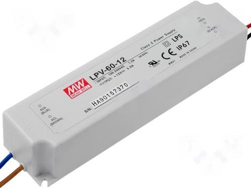 LED napájecí zdroj 60W, MEAN WELL