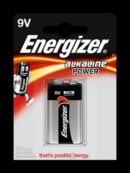 Baterie Energizer Power 9V 1ks